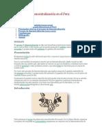 7 Descentralización y Reforma Constitucional en El Perú Actual