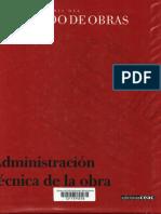 Nueva Enciclopedia Del Encargado de Obras - Administración de La Obra