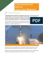 Se aplaza el lanzamiento del satélite militar de comunicaciones ruso Blagovest.pdf