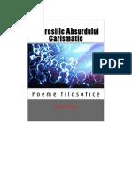 Depresiile Absurdului Carismatic:Poeme filosofice de Sorin Cerin(Romanian edition)