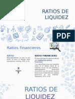 RATIOS DE LIQIDEZ