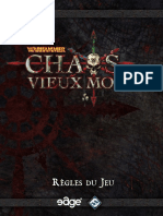 CHAOS dans le vieux monde - EDGE (livret de règles) - VF