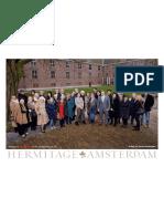 Mieke Merkx uit Breda in de Hermitage