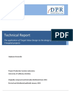 Denerolle 2011 Application of TVD to the Design Phase of 3 Hospital Projects