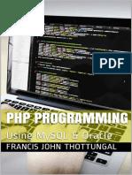 PHP Programming Using MySQL & Oracle