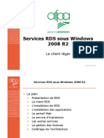 Services RDS Sous Windows 2008 R2-Part1