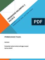 Bahasa Indonesia (Perbaikan Menjadi Kalimat Efektif)