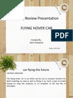 Flying Hover Car 01