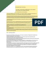 Normativa Aplicable Para La Concreción Curricular y La Elaboración de Las Programaciones Didácticas y de Aula