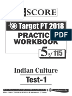 Test - 5_Indian Culture_Test-1