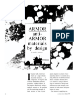 ARMOR anti- ARMOR materials by design