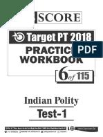 Test - 6_Indian Polity_Test-1