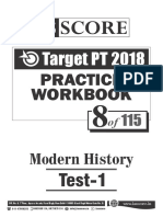 Test - 8_Modern History_Test-1