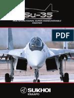 Su-35 Buklet Eng