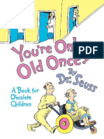OceanofPDF.com Youre Only Old Once a Book for Obsolete - Dr Seuss