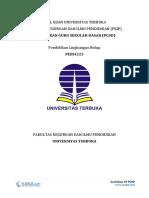Soal Ujian UT PGSD PEBI4223 Pendidikan Lingkungan Hidup Lengkap dengan Kunci Jawaban