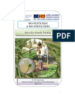 Bio-pesticides and Bio-fertilizers Aid t