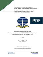 Contoh Laporan PKP UT PGSD IPA Perkembangbiakan Mahluk Hidup - Pemantaan Kemampuan Profesional PDGK4560