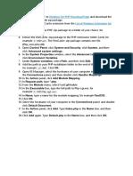 Configure PHP With IIS