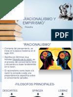 Racionalismo y Empirismo- Inductismo