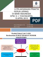 PPT Praktik Kerja Lapangan