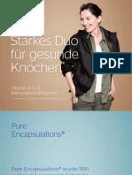 Starkes Duo für gesunde Knochen - Vitamin K & D Mikronährstoff-Formel