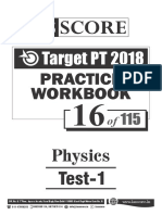 Test - 16 Physics Test-1