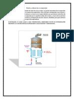 Diseño y Cálculo de Un Evaporador ANGIE