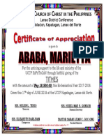 Certificate Tithes (1)