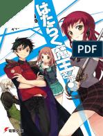 Hataraku Maou-sama Volume 01