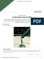 Astronomía_ La literatura y las estrellas _ Vargas Llosa_Opinión _ EL PAÍS