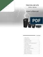 User Manual EA900II Series