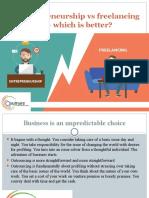Entrepreneurship vs freelancing — which is better.pptx.pptx