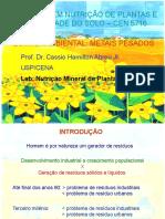 Quimica Ambiental e Metais Pesados 12 Nov 2002 - Cópia - Cópia.ppt
