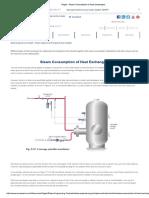 Spirax - Steam Consumption of Heat Exchangers