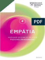 EMPÁTIA - HARVARD BUSINESS REVIEW PSZICHOLÓGIASOROZAT IV.