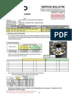 S150-41-K001 SK330-SK350-6E Main Pump & Software Change
