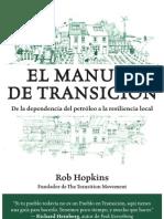 Indice de El Manual de Transición