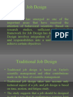 Job Design and Job Analysis