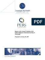 2017 PERS Valuation Report