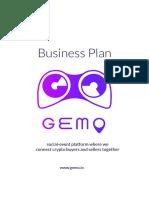 Business Plan GEMO 1.0
