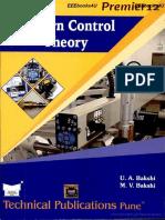 Modern Control Theory Bakshi