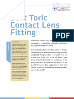 Soft Toric Contact Lens Fiting