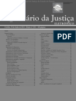 Diário Da Justiça Eletrônico - Data Da Veiculação - 29-06-2018