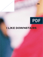I Like Downstairs - Printed Publication