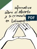 Guía Informativa sobre el Aborto y su Criminalización en Latinomaérica