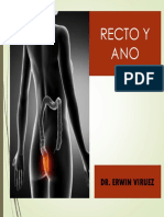 Recto y Ano Exposicion Dr. Erwin Viruez