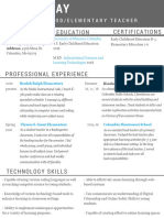 linked resume