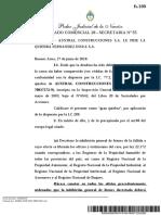La Justicia dispuso la quiebra de Austral Construcciones, la empresa insignia de Lázaro Báez