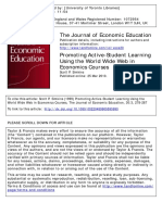 1999-Simkins-Promoting Active-Student Learning Using the World Wide Web in Economics Courses